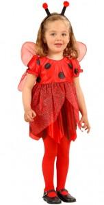 Marienkäfer Kostüm für Kleinkinder